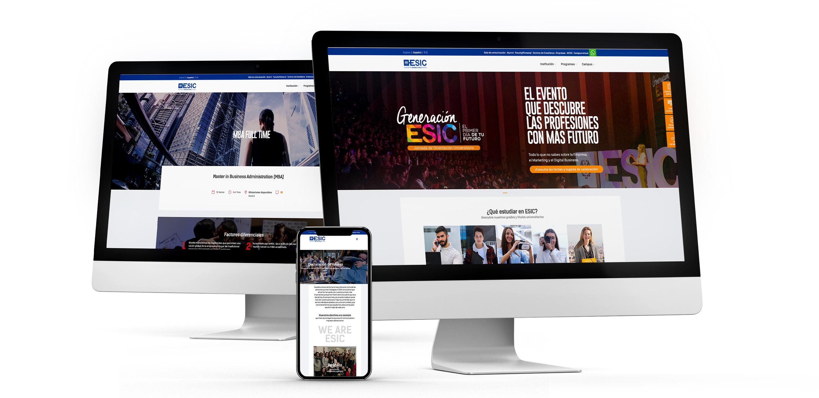 Nuevo Portal Corporativo | PRISMA Agencia de Publicidad Madrid